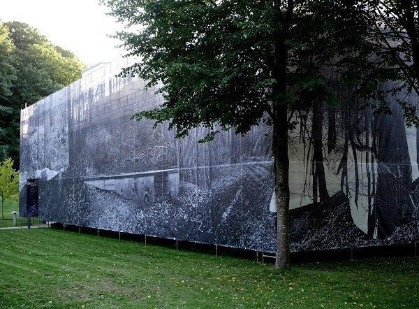 "Інсталяція ""Природознавство"", 2018, фасад будівлі"