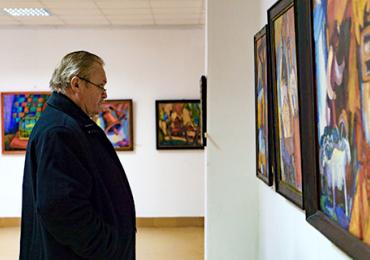 Ювілейна виставка робіт Василя Філеша