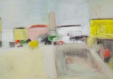 Виставка «У місті» об'єднання «Синій Жовтень»