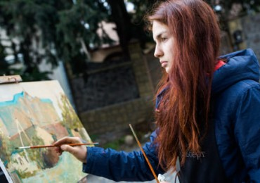 "Prize-winner of the ""Silver Easel"" Sofiia Yesakova: ""I was inspired on the very day I arrived in Uzhhorod!"""