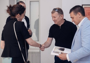Founders of Brovdi Art met with the representatives of Sotheby's