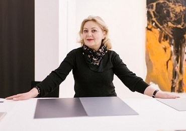 """Galyna Sklyarenko: """"The artists I write about have already become a phenomenon of our culture and art"""""""