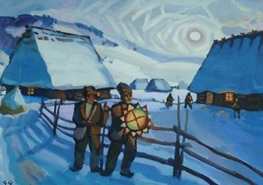 Art & Culture Foundation Brovdi Art congratulates all the Western Christians on Christmas
